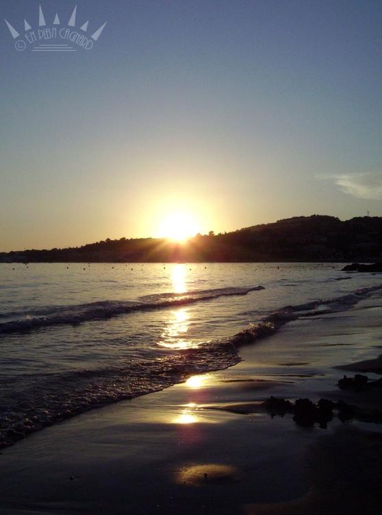 coucher soleil bandol