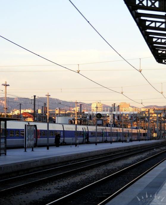 TGV vers le sud